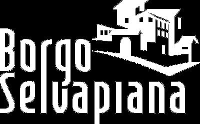Logo Borgo selvapiana in colore bianco