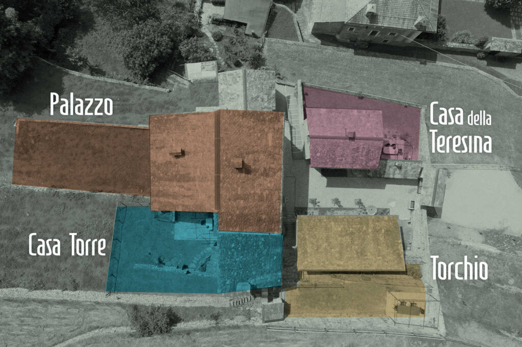Mappa aerea Borgo Selvapiana